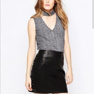 NWT ASOS Cut Out Top